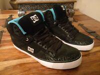 DC Casual (skateboard) Shoes - Black/Blue Size 8UK (42EUR)