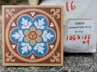 Various unused Original Style, Maioliche dell'Umbria and more tiles