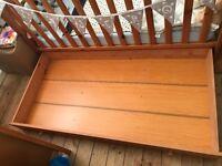 Pine Under Cot Drawer