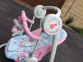 Floral mama and papas swing chair
