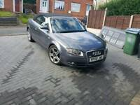 AUDI A4 CONVERTIBLE 2008 B7 spares repair damaged bargain PX SMART 0.8 CDI