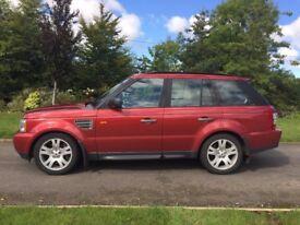 2007 Range Rover Sport HSE 3.6 TDV8
