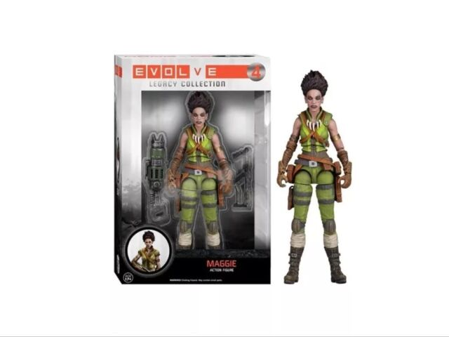Evolve Maggie Legacy Action Figure Brand New