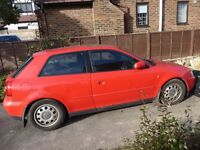 Red Audi A3 for sale. Classic car to be!