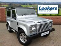 Land Rover Defender 90 TD XS STATION WAGON (silver) 2015-06-12