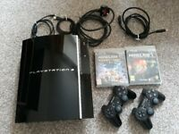 Ps3 good condition + 4 games