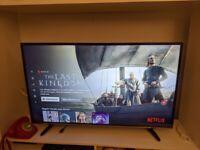 """LIKE NEW Smart TV Hisense 49"""" 4k NETFLIX AMAZON VIDEO - Mint Condition"""