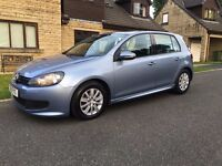 VOLKSWAGEN GOLF 1.6 TDI BLUEMOTION - LOW MILEAGE - FULL SERVICE HISTORY - £0 ROAD TAX EVERY YEAR
