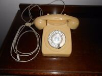 1960's/70's Dial Up Telephone.