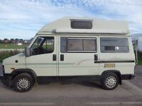 J Reg 1992 Fiat Autohomes Avalon 2L petrol campervan. Good condition inside and out. Runs well.
