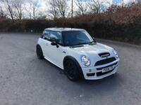 Mini Cooper S . JCW 210bhp white 1.6 *open to sensible offers May swap , why ?