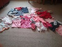 Girls clothes, 12-18 m, some new items, some hardly worn.