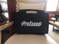 ProSOund dual wireless microphone set