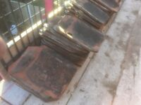 205 used clay roof tiles