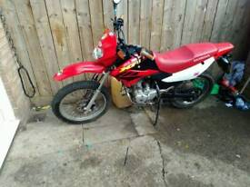 Honda xr125l enduro bike 2004 full mot