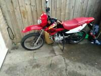 Honda xr125l enduro bike 2004 full mot