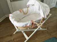 Mamas & Pappas Moses Basket w Stand