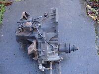 Ford Escort Diesel MTX gearbox 1.8TDI with flywheel and clutch