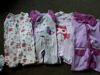 4 x Baby grows 12-18 months