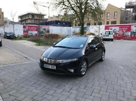 Honda Civic Automatic with Reverse Parking Sensors and Honda Navigation System , Mileage only 48469