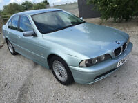 bmw 5 series e39 525 automatic with A/C - halo headlight upgrade great car not m5 auto tow bar