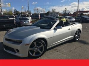 2014 Chevrolet Camaro 2LT / LEATHER / CONVERTIBLE