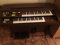 Electric Organ , first come first served. 2 guys can carry 20 mtrs from ground floor to sreet.