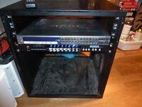 NETGEAR PROSAFE GSM7328S 24+4 GIGABIT ShinyBow SW-5584C 8x8 Matrix Routing Switcher