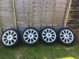 """Ford 18"""" alloys quicksale £400 Ono call for info"""