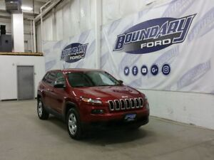 2014 Jeep Cherokee Sport W/ Cloth Seats, Power Windows/Locks