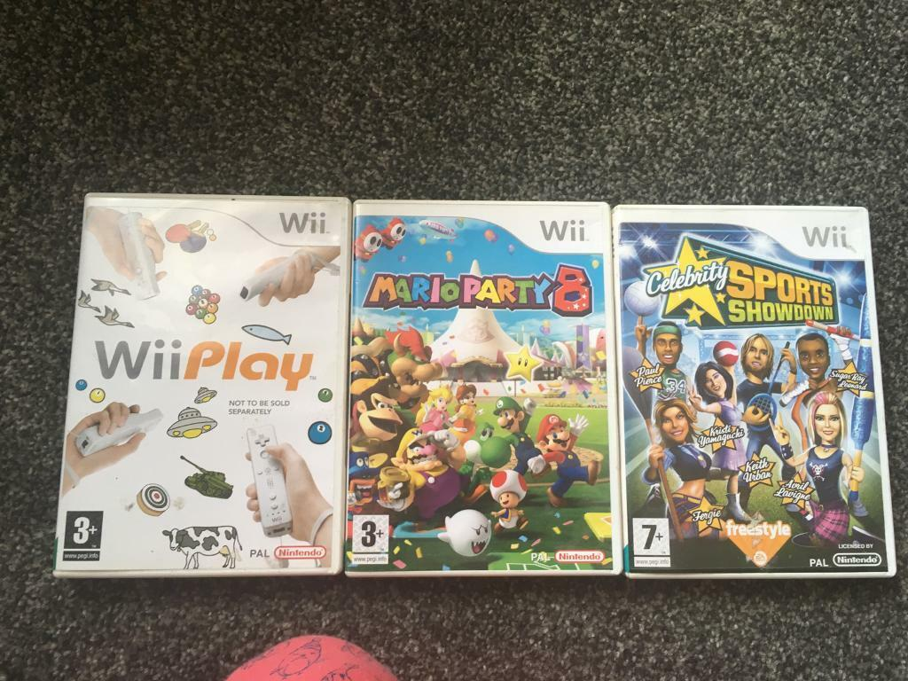 WiiPlay game £1.50