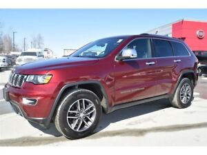 2017 Jeep Grand Cherokee Limited+cuir+toit+démarreur