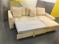 John Lewis L shape sofa with storage, Free delivery