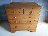 Ducal pine 3+2 chest of drawers