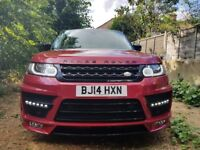 Range Rover Sport with Wide body Kit