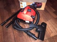 compact yet powerful Zanussi bagless vacuum cleaner or hoover like new