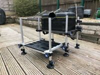 Matrix F25 seatbox. Pole fishing. Seat. Box