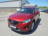 2014 MAZDA CX-5 SPORT NAV D 2.2 DAMAGED REPAIRABLE FOR SALE