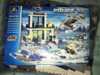 New Lego like police set