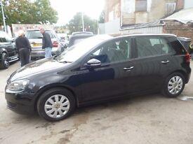 Volkswagen GOLF S TDI,new shape,5 dr hatchback,1 previous owner,2 keys,full MOT,runs and drives well