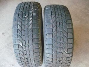 Two 225-60-16 snow tires $70.00