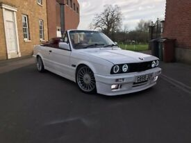 STUNNING BMW E30 CONVERTIBLE FOR SALE