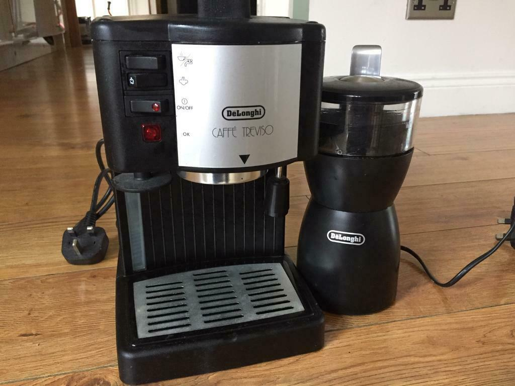 Delonghi Caffe Treviso Coffee Machine And Delonghi Kg40