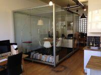 Modular glass meeting pod - Constructiv Ottobox