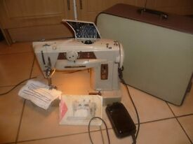 Singer 401G Slant-o-matic Embroidery stitches Sewing Machine