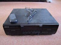 Kenwood KXF-W4010 Stereo Double Cassette Deck