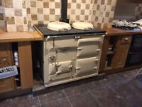 Traditional 2 oven oil fired Aga