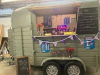 Catering trailer/classic horse box conversion/gin bar/takeaway beer garden/weddings