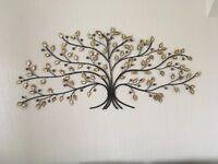 Tree shaped wall art
