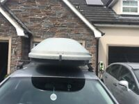 Roofbox halfords complete with keys